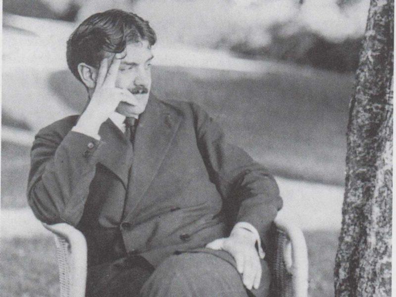 Otto Prutscher portrait