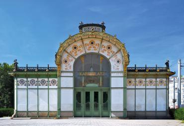 Otto Wagner, Karlsplatz Pavilion Metro Station, Vienna, 1898 ©Acmanley, aodreamstime.com