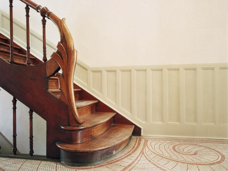 Victor Horta, Autrique House, Staircase © Marie-Françoise Plissart